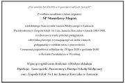 Z wielkim smutkiem i żalem żegnamy  ŚP Stanisławę Magoń